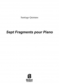 Sept fragments pour piano image