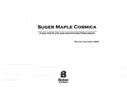 Sugar Maple Cosmica