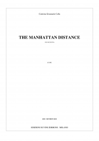 The Manhattan distance