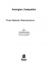 Three melodic retroductions