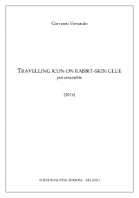 Travelling icon on rabbit skin glue image