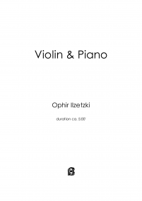 Violin and Piano image