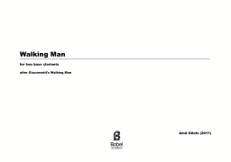Walking man image