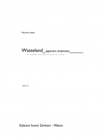 Wasteland apparent emptiness image