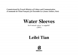 Water sleeves
