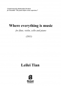 Where everything is music