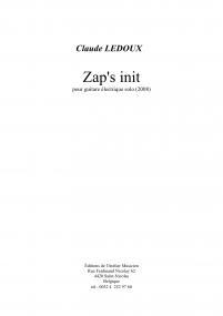 Zap's init