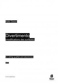 Divertimento (modifications des surfaces)