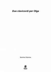 Due clavicordi per Olga
