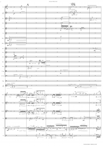 elapsing twilight shades FULL SCORE 2014 Christian Baldini A3 z 10