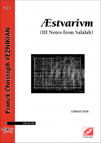 Æstvarivm (III notes from Salalah)