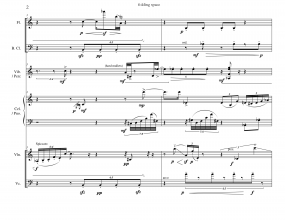 folding space full score Baldini 9