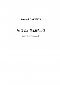 In G for BASHunG image