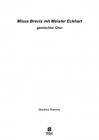 Missa Brevis with Meister Eckhart image