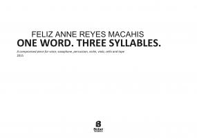 one word three syllables macahis A4 z 3 1 321