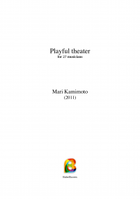 Playful theater image