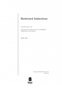Backward Inductions