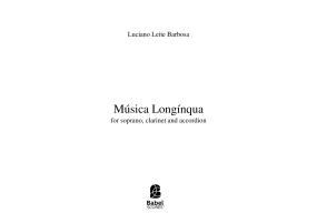 Música Longínqua