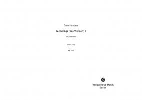 Becomings (Das Werden) II
