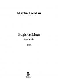 Fugitive Lines