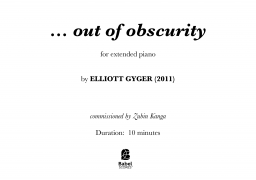 … out of obscurity