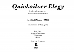 Quicksilver Elegy