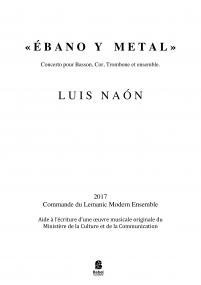 Ebano y Metal