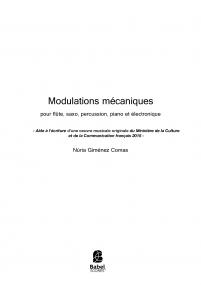 Modulations mecaniques