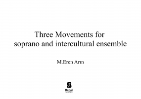 THREE MOVEMENTS FOR SOPRNO AND INTERCULTURAL ENSEMBLE image