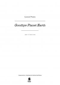 Goodbye Planet Earth