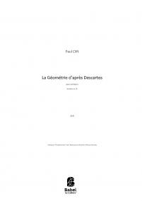 La Géométrie d'après Descartes