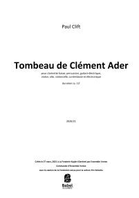 Tombeau de Clément Ader