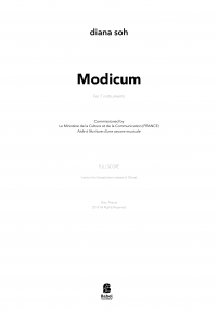 Modicum (version for saxophone) image