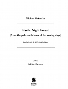 Earth: Night forest (from the pale earth book of darkening days)