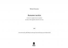 Autumn tactics