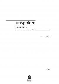 unspoken (scene V)