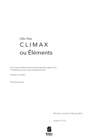 Climax ou Éléments