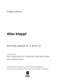 Alles Klappt - volume II