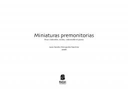 Miniaturas premonitorias