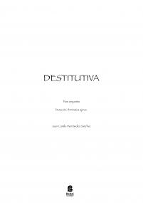 Destitutiva
