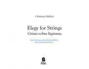 Elegy for Strings