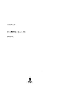 Memorium III