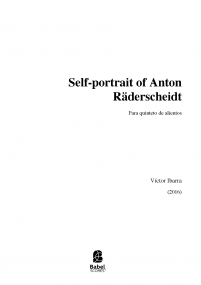 Self-portrait of Anton Räderscheidt