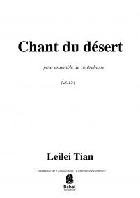 Chant du désert