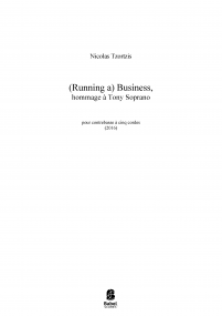 (Running a) Business, Hommage à Tony Soprano image