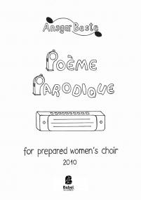 Poème Parodique (women's choir)