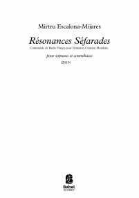 Résonances Séfarades