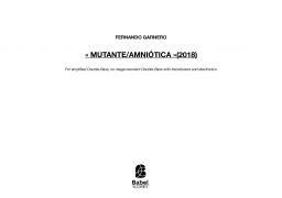 Mutante/Amniotica