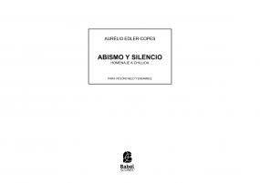 Abismo y Silencio – Homenaje a Chillida