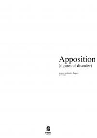 Apposition III